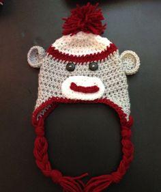 1000+ images about Crochet on Pinterest Sock monkey hat ...