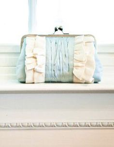 Wedding Clutch / Bridal Purse / Silk Clutch