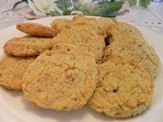 Ginny's Low Carb Kitchen: Orange Cream Cookies (The original Dr. Davis' recipe link also)