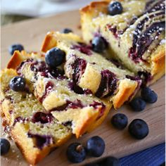 This Blueberry Swirl Pound Cake recipe is the perfect recipe for the warm, summer months when blueberries are fresh, but is always a special treat any other time of the year.