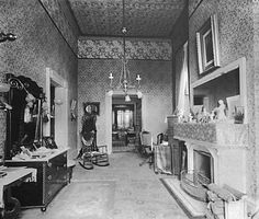 """""""White House Sitting Room Grover Cleveland 1889"""""""