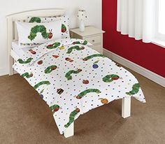 The Very Hungry Caterpillar Junior Duvet Cover and Pillowcase Set The Very Hungry Caterpillar http://www.amazon.com/dp/B00M0FR2YK/ref=cm_sw_r_pi_dp_sbvfwb0RBSWFC