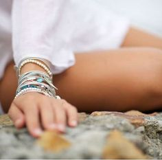 bracelet/hair band. profits to aids/hiv education in south africa.