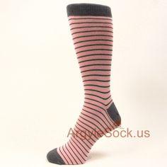 Light Pink Grey Argyle Wedding Men&39s Dress Socks - Statement ...