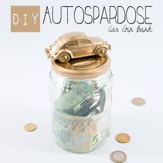 "Saving can be a challenge. Creating your own car coin bank might provide some extra motivation. Find out how it's done and  check out the collaborative board ""DIY bloggers for Volkswagen"" for even more inspiration: https://www.pinterest.com/volkswagen/diy-bloggers-for-volkswagen"