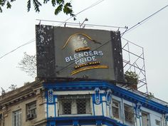 Kolkata hoarding With Eagle