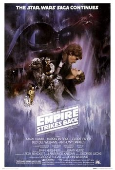 Directed by Irvin Kershner.  With Mark Hamill, Harrison Ford, Carrie Fisher, Billy Dee Williams. After the rebels have been brutally overpowered by the Empire on their newly established base, Luke Skywalker takes advanced Jedi training with Master Yoda, while his friends are pursued by Darth Vader as part of his plan to capture Luke.