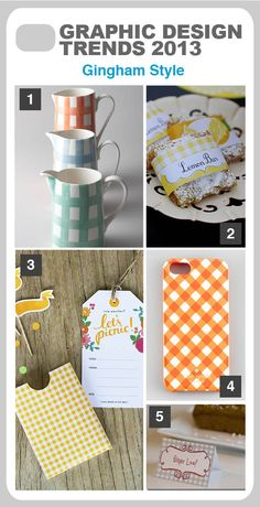 Gingham Style 2013 Design Trends