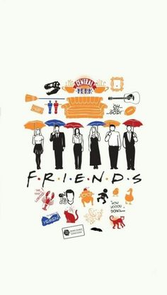 friends and himym Tv: Friends, Friends Tv Quotes, Friends Episodes, Friends Poster, Friends Cast, Friends Moments, Friends Series, Friends Image, 1440x2560 Wallpaper