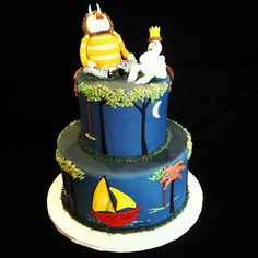 """Where The Wild Things Are"" tiered cake!"