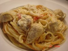 Spaghetti, Pasta, Ethnic Recipes, Food, Essen, Noodles, Yemek, Spaghetti Noodles, Ranch Pasta