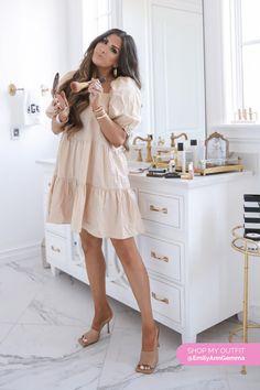DRESS: H Cute Summer Dresses, Summer Outfits, Picture Frame, Picture Ideas, Emily Ann Gemma, Steve Madden Sunglasses, Louis Vuitton Bracelet, Dior Shop, The Sweetest Thing Blog