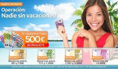 Patricia... Operación: Nadie sin vacaciones, te regalamos hasta 500euros!!  tuexpertoenviajes.com/patriciacasado