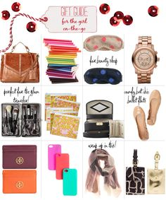 Girl on the go - So I'd take any of these!