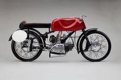 """125cc Competition SS 52 """"Gobbetto"""" 1952 Moto Rumi (1950–63)"""
