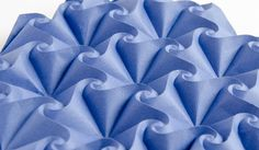 Mermaid-B #origami tessellation side view