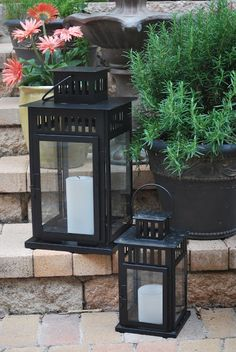 Ikea Borrby lanterns - definitely need these on the new front porch!