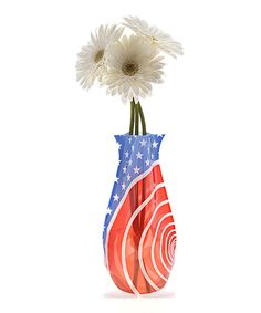This Red White You Myvaz Vase by Modgy is perfect! #zulilyfinds
