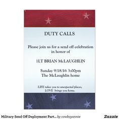 military send off party invitations navy stuff pinterest party