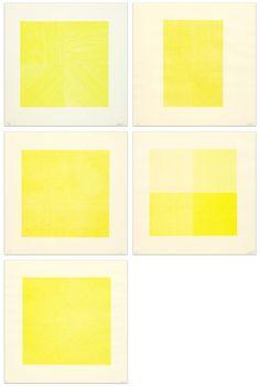 Composite Series / 1971 Yellow Art, Color, Design, Colour, Colors
