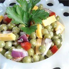 Mom's Easy Pea Salad - Allrecipes.com