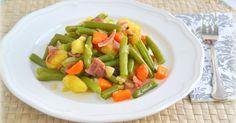 Salteado de verduras gratinadas