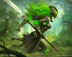 thetygre:    Nature Spirit Knight by MihaiRadu