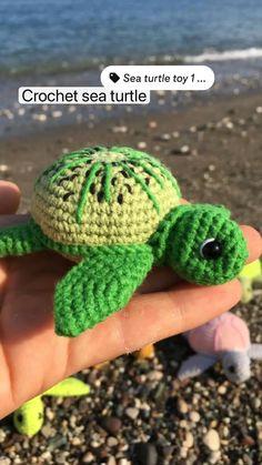 Crochet Gifts, Diy Crochet, Handmade Toys, Etsy Handmade, Crochet Turtle, Happy Birthday Mom, Teacher Appreciation Gifts, Crochet Patterns Amigurumi, Crochet For Kids