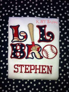 Baseball Theme Little Brother Shirt, Siblings Shirts, Baseball Shirt