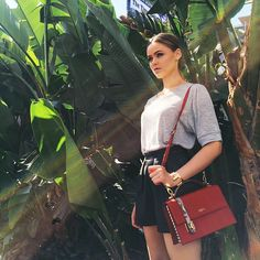 """Palm trees in paradise while shooting  #kaytureonthego"" Photo taken by @kristina_bazan on Instagram, pinned via the InstaPin iOS App! http://www.instapinapp.com (04/20/2015)"