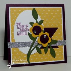 CCMC307 Grateful by stampercamper - Cards and Paper Crafts at Splitcoaststampers