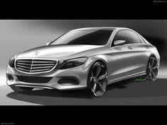 Mercedes Benz C Class | Design Sketch