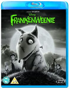 Frankenweenie [Blu-ray][Region Free] @ niftywarehouse.com #NiftyWarehouse #Disney #DisneyMovies #Animated #Film #DisneyFilms #DisneyCartoons #Kids #Cartoons