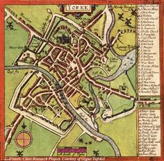 Check out ye olde Google mappe: Now you can get a bird's eye view of major cities from the 16th Century