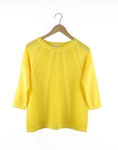 Boxy Yellow Jersey