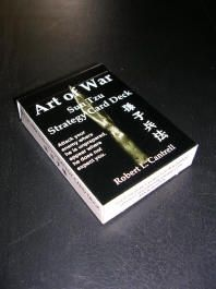 Art of War: Sun Tzu Strategy Card Deck Card Deck, Deck Of Cards, Sun Tzu, Decks, War, Personalized Items, Design, Front Porches