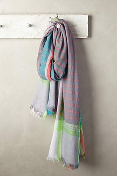 Sun-Drenched Stripe Scarf - anthropologie.com#anthrofave
