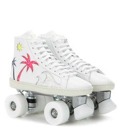 YSL rollerskates #disco