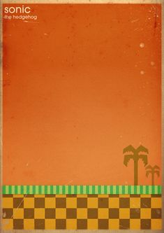 Minimalist Graphic Posters Of Classic Video Games - DesignTAXI.com