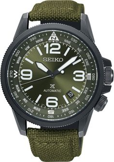 Shop the latest collection of Seiko Prospex Earth Watch Green Man from the most popular stores - all in one place. Fitness Watches For Men, Casio Protrek, Best Fitness Watch, Nylons, Waterproof Sports Watch, Seiko Watches, Army Watches, Nice Watches, Stylish Watches