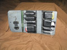 Elmore's Handmade Leathers and More: EDC (Everday Carry) Leather Gear Organizer