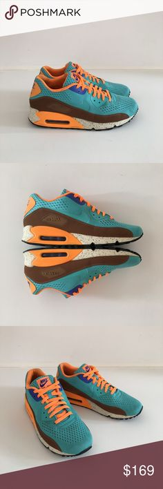 """NIKE AIR MAX 90 MESH """"BEACHES OF RIO"""" COLLECTORS Collectors edition """"Beaches of Rio"""" Air Max 90 EM Engineered Mesh trainers. Excellent condition. Worn twice. No box. Nike Shoes Sneakers"""
