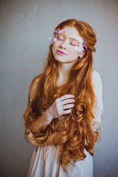 red hair (Pastel Hair Curly)