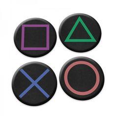 Porta Copos Gamer Joypad PS4 - Geek / Nerd                                                                                                                                                                                 Mais