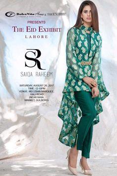 Eid fashion🚺 Pakistani Dress Design, Pakistani Dresses, Indian Dresses, Indian Outfits, Look Fashion, Hijab Fashion, Fashion Dresses, African Fashion, Indian Fashion