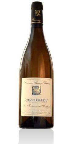 """Domaine Georges Vernay Condrieu Les Terrasses de l'Empire 2009 The Condrieu """"Terrasses de l'Empire"""" is the archetypical fruit wine, with its inimitable aromas of white peach, the svelte elegance that entirely makes the charm of its style. A Condrieu deeply rich in harmony, in which the aromatic qualities balance the wine in a beautiful freshness."""