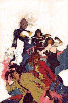 X-Men women by Gerald Parel
