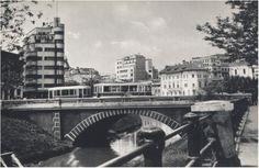Podul Mihai Voda (cam pe unde este acum bd. Libertatii intersectie cu Splaiul Unirii