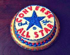 Converse All Star Cake