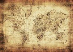 mapa del mundo antiguo